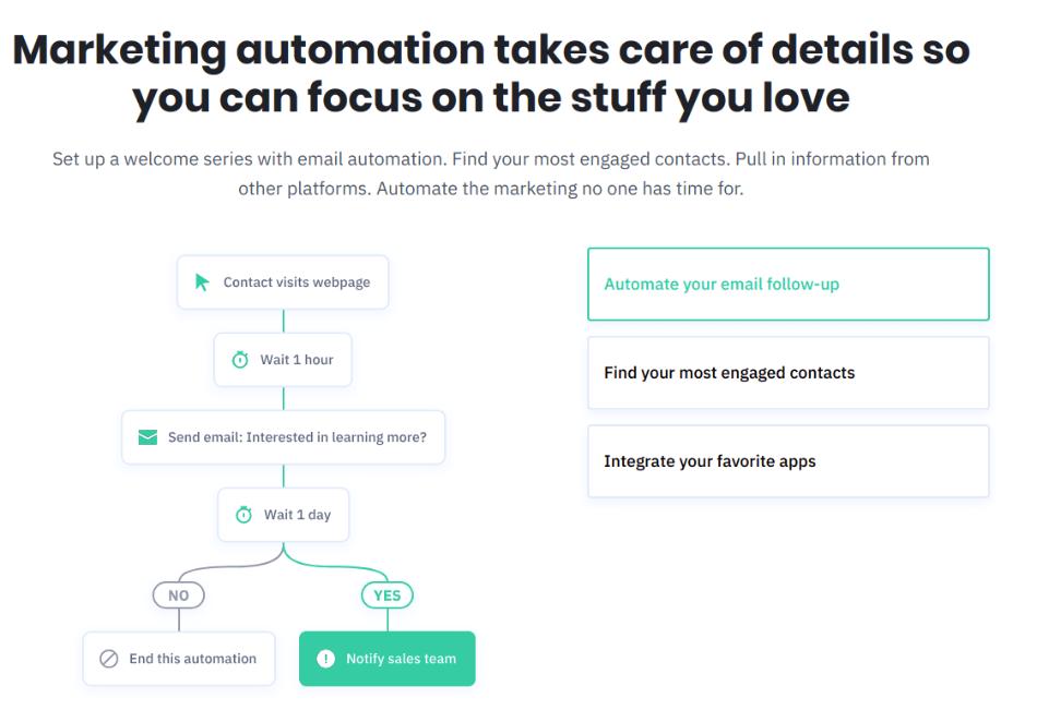 activacampaign email automation