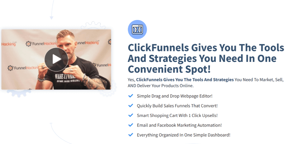 click funnels features