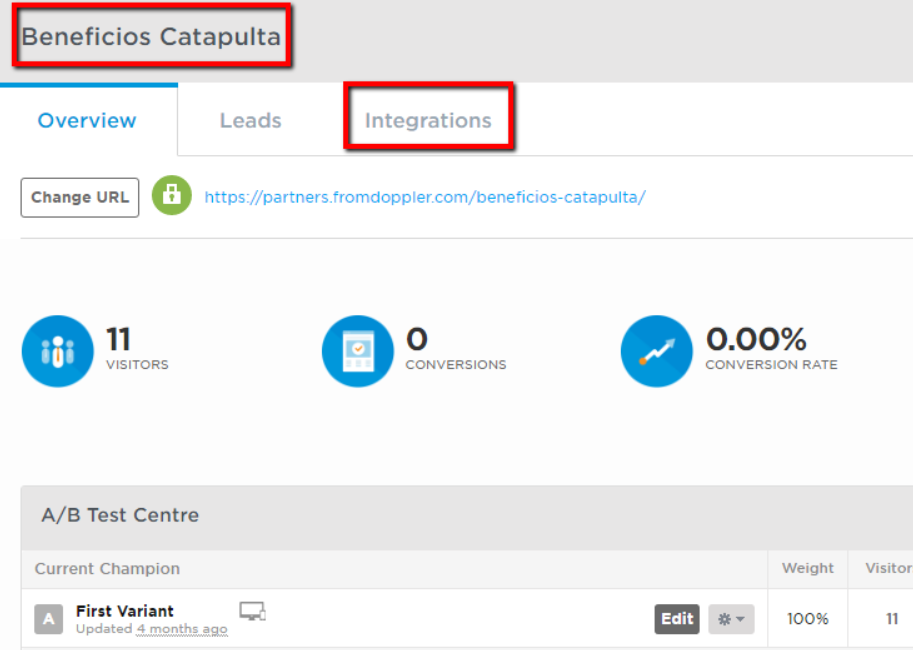 unbounce conversion tracking