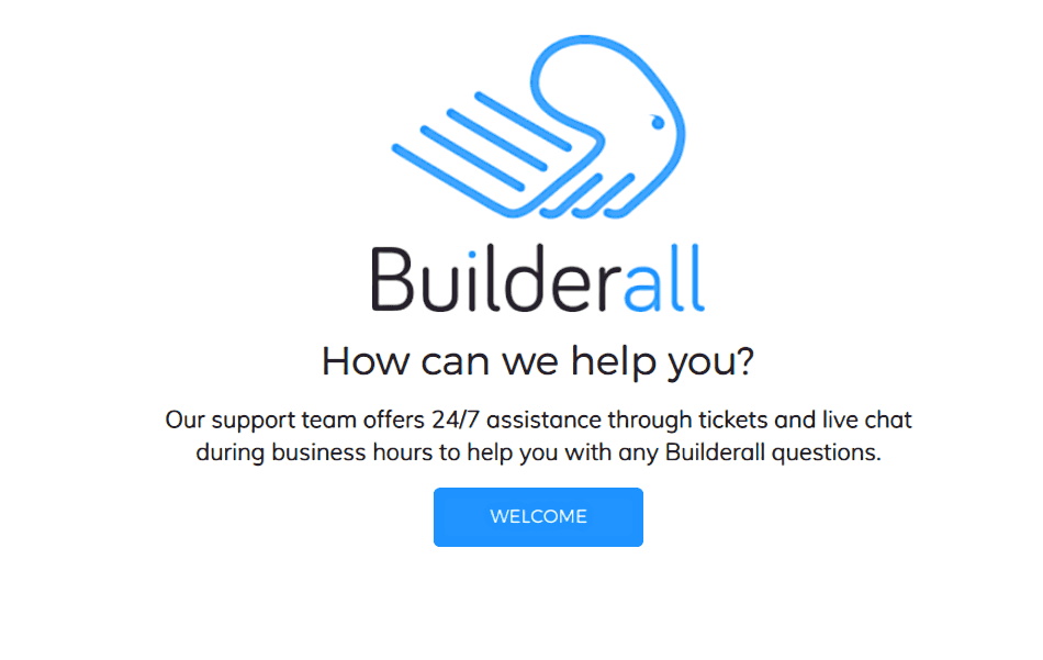 Builderall support