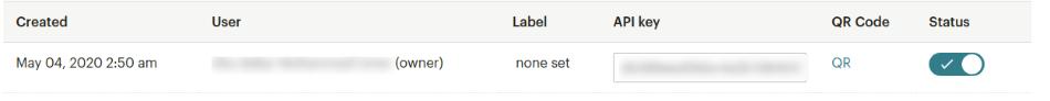 mailchimp plugin for wordpress api key