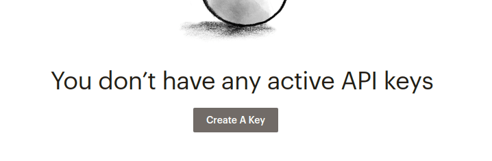 mailchimp plugin for wordpress create api key